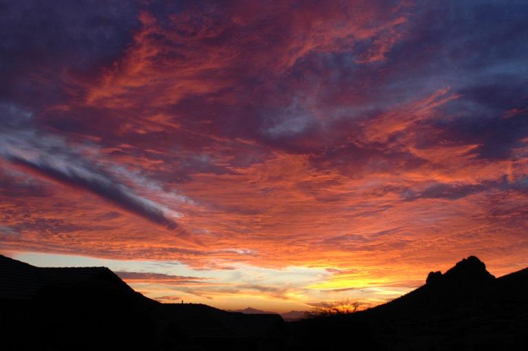 Joe Dobrow photo of sunset in Arizona