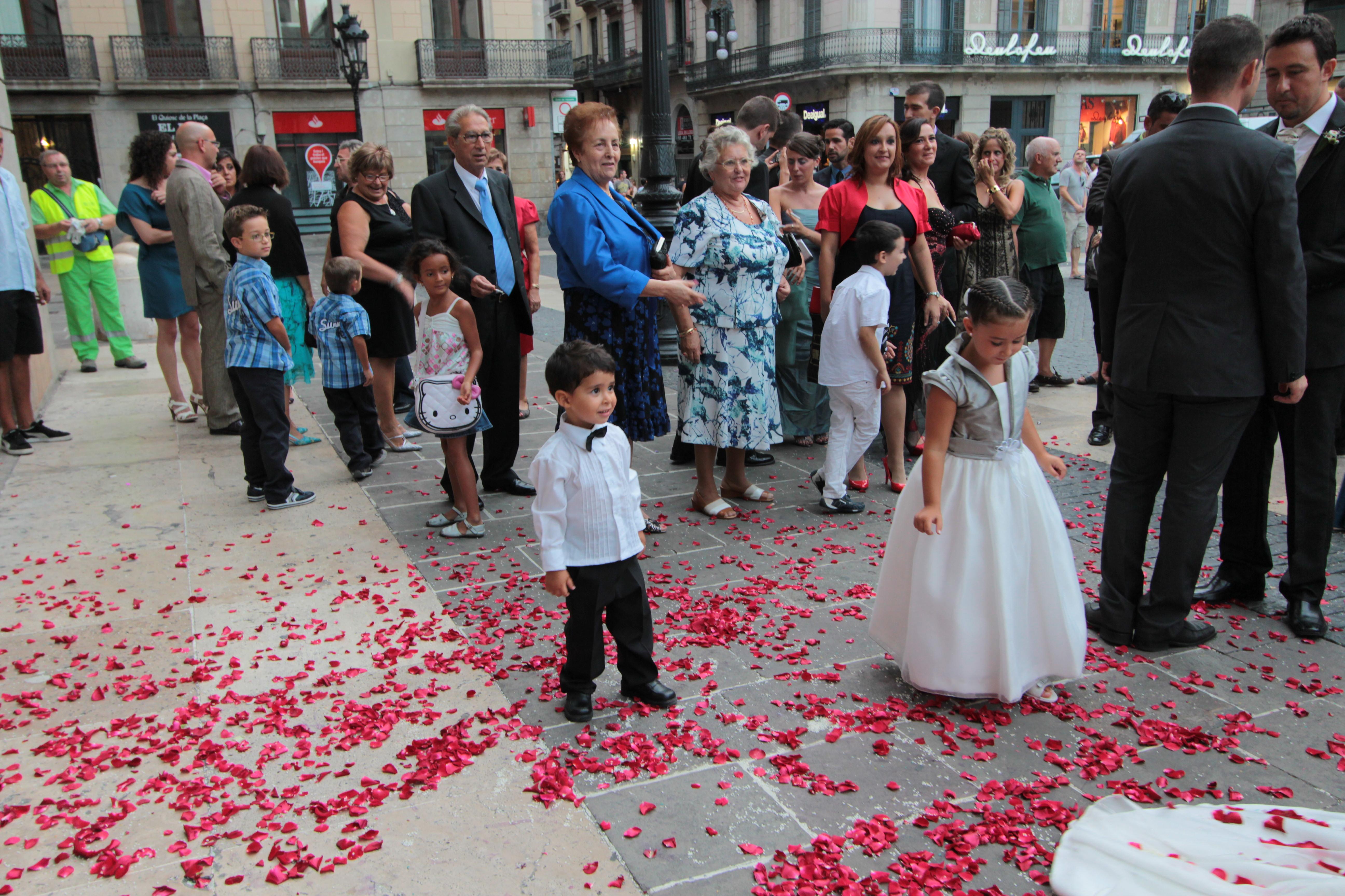 Joe Dobrow photo of a wedding in Barcelona