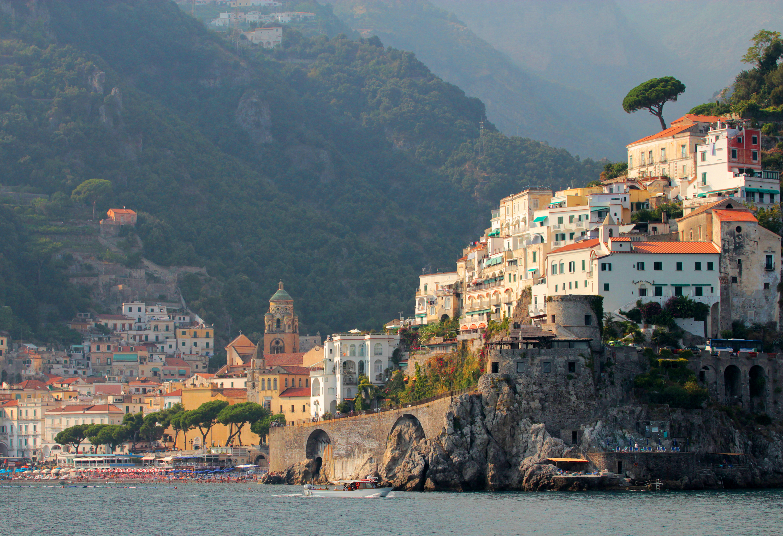 Joe Dobrow photo of the town of Amalfi, Italy