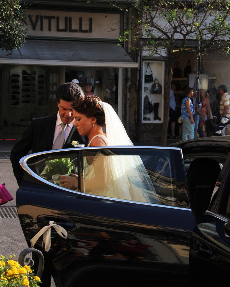 Joe Dobrow photo of a bride in Sorrento, Italy