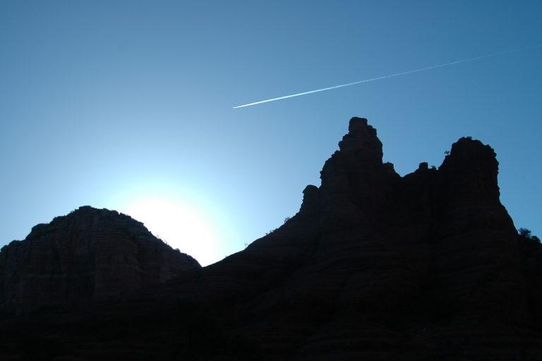 Joe Dobrow photo of sunrise in Sedona, Arizona