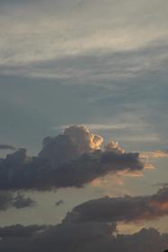Joe Dobrow photo of backlit clouds