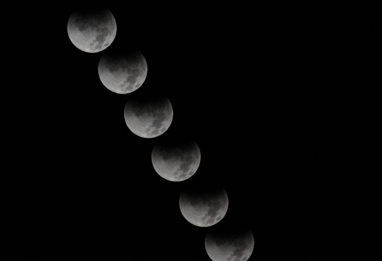 Joe Dobrow photo of a lunar eclipse, 12-10-11