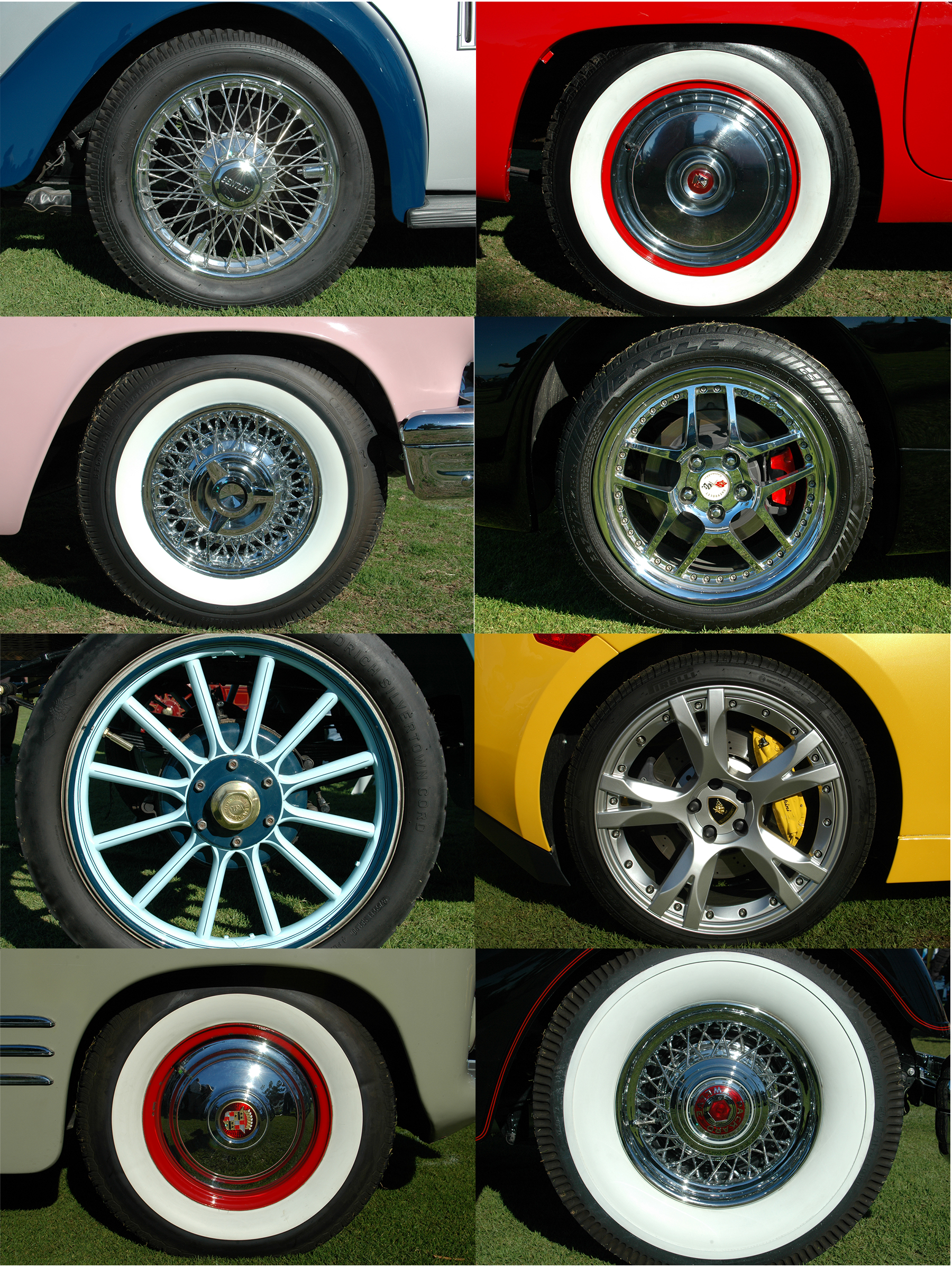 Joe Dobrow photo of vintage car tires